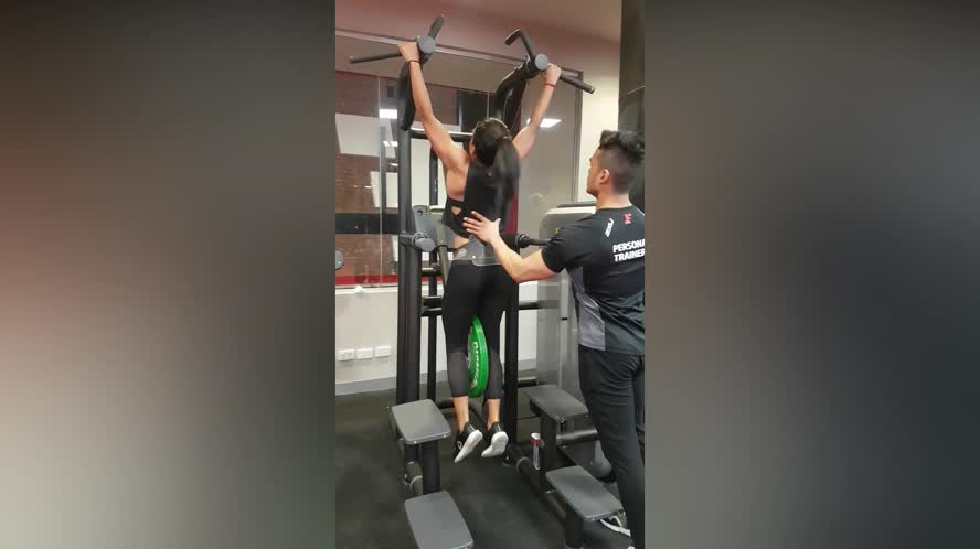 Kala weighted Pullups 10kg